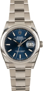 Rolex Datejust 126200 Blue Dial