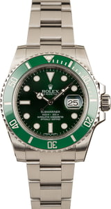 Pre Owned Rolex Submariner 116610V Hulk Ceramic Model