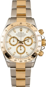 Pre-Owned 40MM Rolex Daytona 116523 White Dial