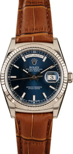 Pre-Owned Rolex Day-Date 118139 White gold