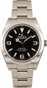 Pre-Owned 39MM Rolex Explorer 214270 Mark II Dial
