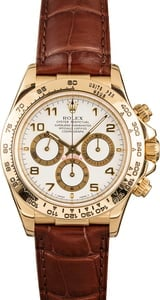 Pre-Owned Rolex Daytona 16518 White Arabic Dial