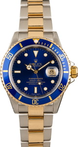 Rolex Submariner 16613 Blue Bezel and Dial Watch
