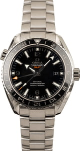 Pre-Owned Omega Seamaster Planet Ocean 600M Co-Axial GMT
