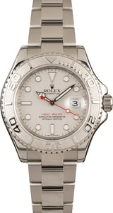 Used Rolex Yacht-Master 116622 Silver Dial