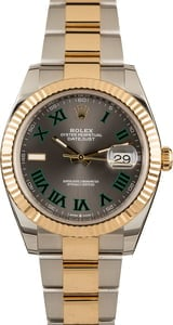 PreOwned Rolex Datejust 126333 Roman Dial
