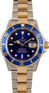 Rolex Submariner 16613 Blue Bezel and Dial