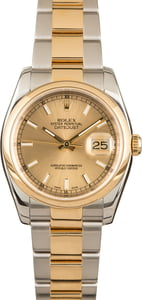 Pre-Owned Rolex Datejust 116203 Champagne Index