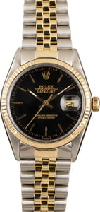 Rolex Datejust Black 16013