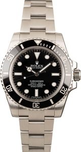 Rolex Submariner 114060 Ceramic Bezel