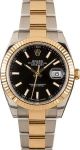 Pre-Owned Rolex Datejust 126333 Black Dial