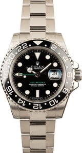Pre-Owned Rolex Steel GMT-Master II 116710