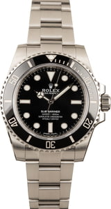 Pre-Owned Rolex Submariner 114060 Stainless Steel