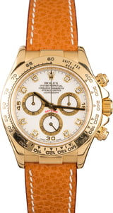 Rolex Daytona Yellow Gold Leather 116518
