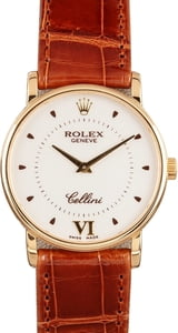 Rolex Cellini Men's 18K Yellow Gold Watch 5115