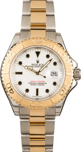 Rolex Yacht-Master White Dial 16623 Two-Tone