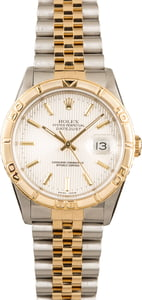 Rolex Datejust 16263 Two Tone Turn-O-Graph