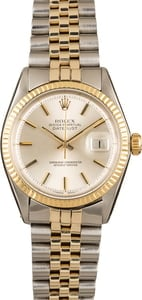 Pre-Owned Rolex Datejust 1600 Silver Dial