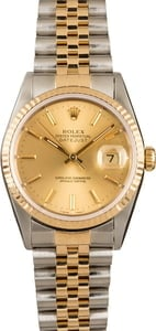 Rolex Two-Tone 36MM Datejust 16233
