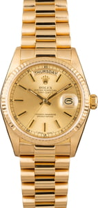 Rolex President 36MM Day-Date 18038