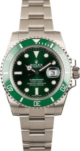 Rolex Submariner 116610LV Green