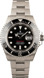 Rolex 126600 Sea-Dweller Red Lettering Model