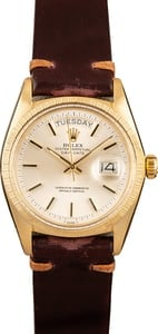 Rolex Vintage President 1807 Bark Finish