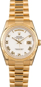 Rolex Day-Date 118238 Yellow Gold President