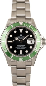 Rolex 50th Anniversary Submariner 16610LV