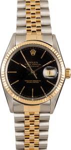 Rolex Datejust 16013 Black Dial