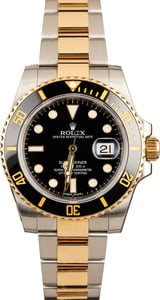 Submariner Rolex 116613 Black Luminescent Dial