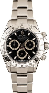 Pre-Owned Rolex Daytona 116520 Black Dial