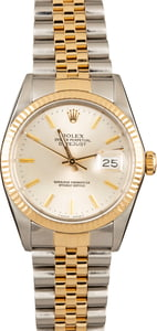 Pre-Owned Rolex Datejust 16013 Two Tone Watch