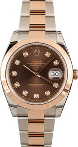 Rolex Diamond Datejust 41mm