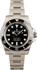 Rolex Ceramic Submariner Ref. 114060 No Date