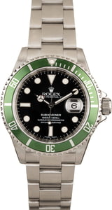 Rolex Submariner 16610V Green