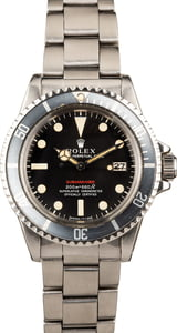 Vintage Rolex Red Submariner Date 1680