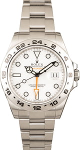 Rolex Explorer II 216570 White 42MM
