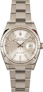 Rolex Steel Datejust 126234 Silver Dial