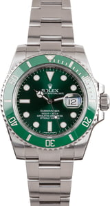 Rolex Submariner Green Ceramic 116610LV