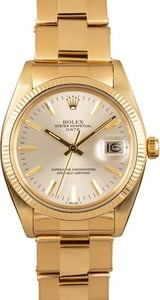 Rolex Date 1503 Gold Oyster