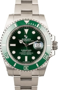 Pre-Owned Rolex Submariner 116610LV 'Hulk'