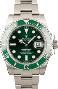 Rolex Hulk Submariner 116610V Green