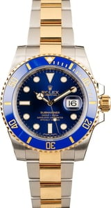 Submariner Rolex 116613LB Blue Dial