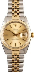 Rolex Datejust 16013 Steel and Gold Watch