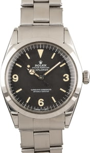 Rolex Oyster Perpetual Vintage Explorer 1016