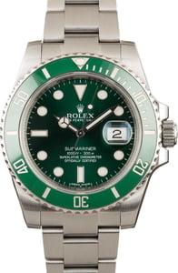 Rolex Submariner 116610V Hulk Model