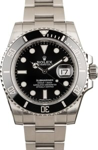 Men's Rolex Submariner 116610LN Black Dial