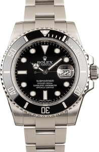 Rolex Submariner 116610 Certified Men's Watch