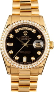 Rolex Day-Date President 118348 Diamond